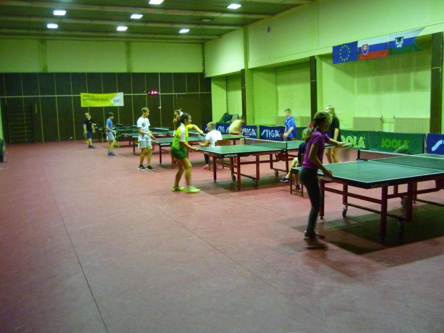 Okresné kolo – stolný tenis